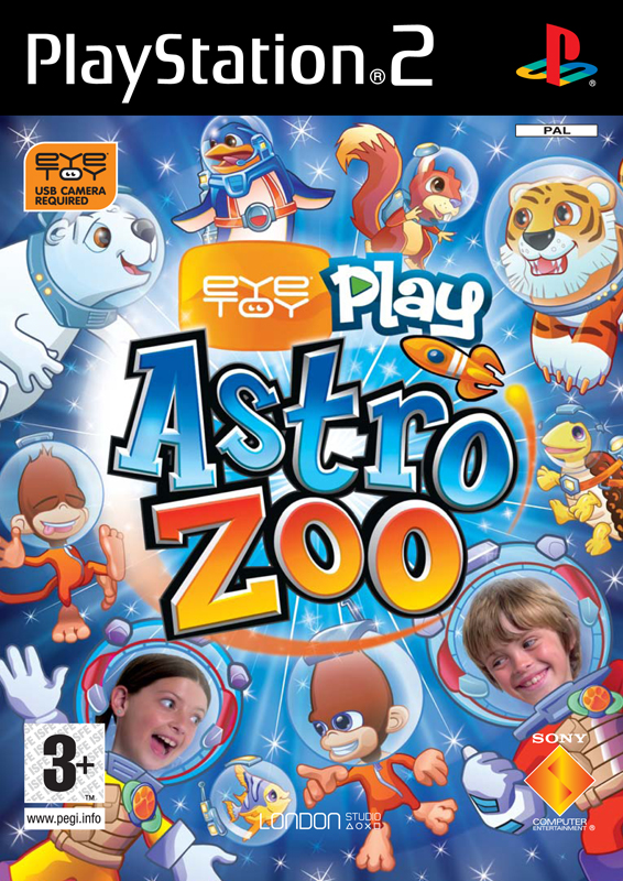 Astro Zoo EyeToy Inlay:Retail EyeToy Inlay v5.4