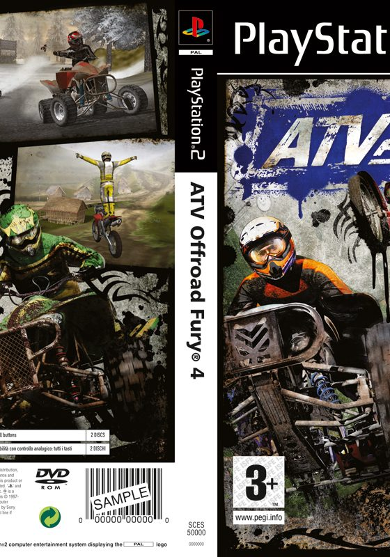 ATV PS2 Inlay