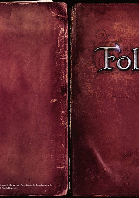Folk PS3 Manual Cover