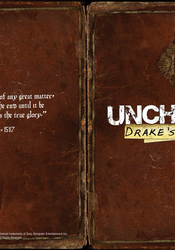 Uncharted Manual Cover